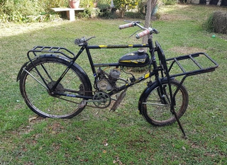 Bicicleta De Reparto Con Motor. Usada