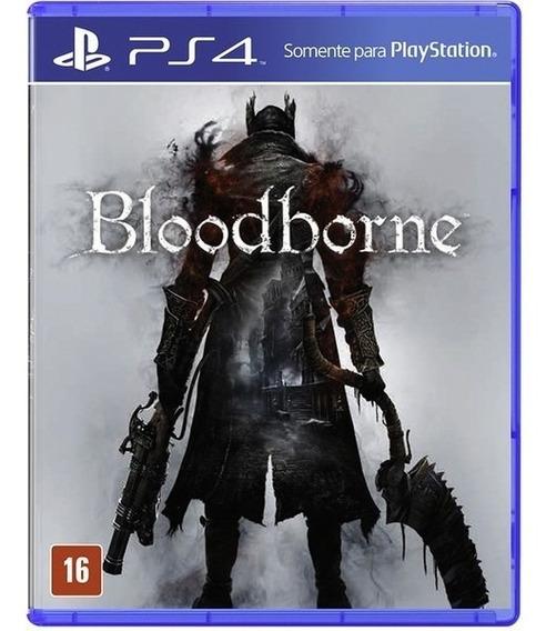 Bloodborne - Ps4 - Mídia Física - Novo