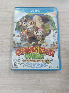 Donkey Kong Country Tropical Freeze - Videojuegos Wii U