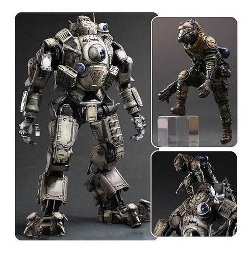 Figura Titan Fall (figuras Playarts) Nuevas Y Selladas