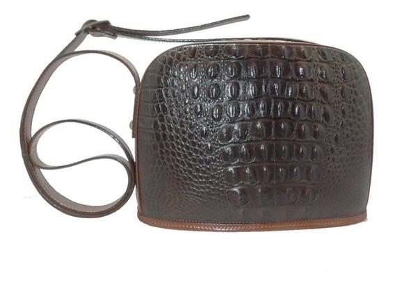 Cartera De Cuero Croco - Calzados Unión - Art 186