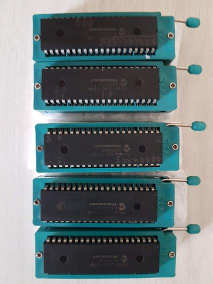 Kit 5 Pic 18f4550, Com 5 Soquete Zif