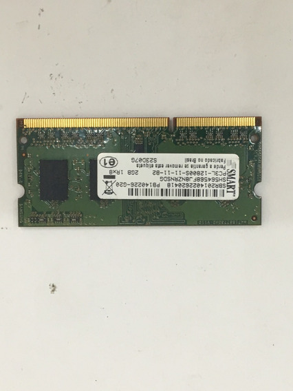 Memoria 2gb Ddr3 Smart Para Notebook Dell Inspiron I14-3437
