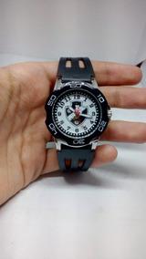 Relógio Do Vasco Original Pulseira De Borracha