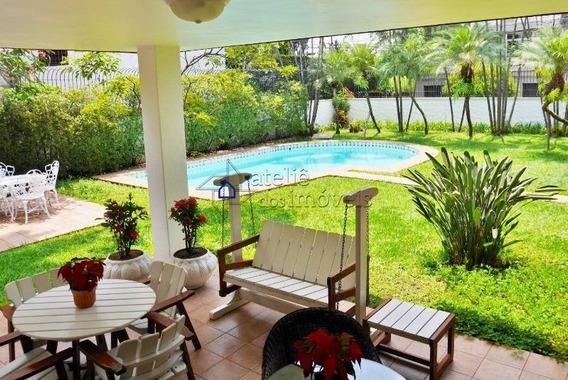 Linda E Moderna Casa No Jardim Guedala, 572 M² De Construção, Terreno De 794 M², 7 Vagas, Ampla Área Social - Ca0287ati