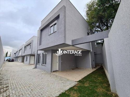 Imagem 1 de 18 de Sobrado Com 3 Dormitórios À Venda, 132 M² Por R$ 649.000,00 - Santa Felicidade - Curitiba/pr - So0269