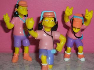 Otto Simpson Personaje Coleccion Jack Juguete Muñeco Figura