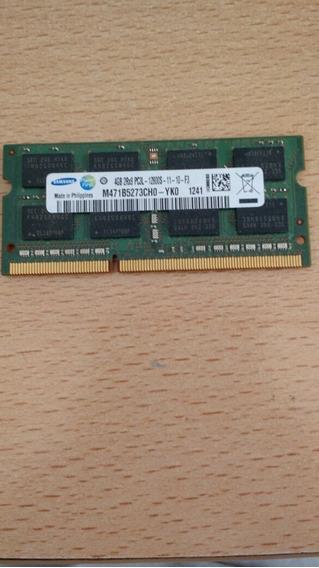 Memoria Ram 4gb Samsung Ddr3 Para Notebook