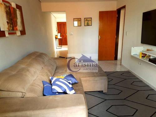 Imagem 1 de 15 de Apartamento Com 3 Dormitórios, Sendo 1 Suíte, À Venda, 98 M² Por R$ 350.000 - Vila Guiomar - Santo André/sp - Ap3847