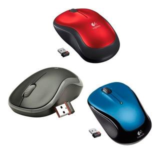 Mouse Logitech M185 Optico Wireless Usb Inalambrico Pce