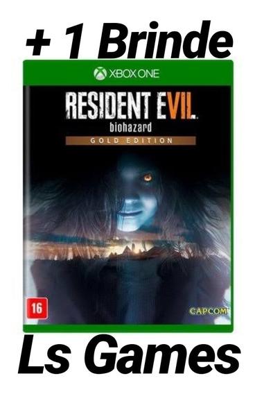 Resident Evil 7 Gold Edition Mídia Digital Xbox One + Brinde