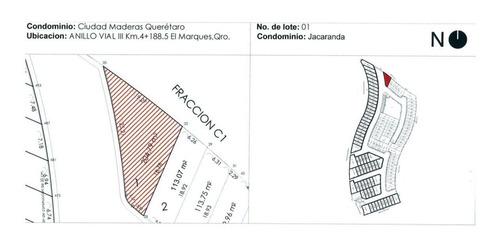 Imagen 1 de 5 de Terreno En Esquina Cd Maderas El Marques Jacarandas
