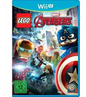 Lego Avengers Wii U. Entrega Inmediata. Español