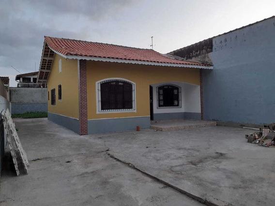 Casa À Venda Em Mongaguá Na Vila Oceanópolis - Ref 8072 E