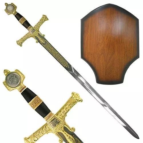 Espada Medieval Rey Salomón De 47 Pulgadas
