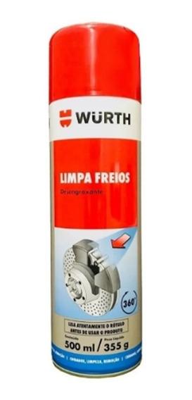 Limpa Freios Wurth Desengraxante Peças Motor Óleo Rodas