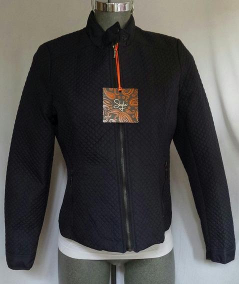 Jacket Acolchada Ligera Tono Azul Marino