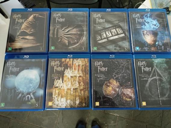 Blu-ray Harry Potter Saga Completa Todos Coleção