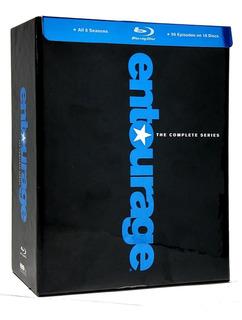 Entourage Juego De Hollywood Boxset 1 - 8 Temporadas Blu-ray