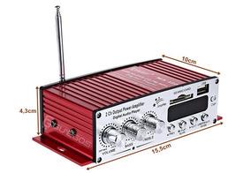 Mini Modulo Amplificador Usb Fm 2 Canais Ma120 Som (baixou)