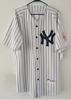 Camisola Jersey New York Yankees Clásico Bordado Nacional