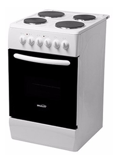 Cocina Electrica Brogas 50 Cm Horno Electrico Con Timer Luz