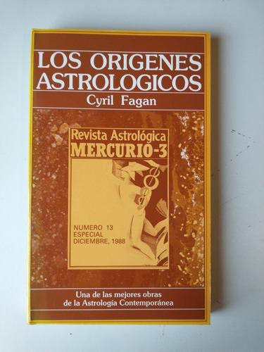Imagen 1 de 2 de Los Orígenes Astrológicos Cyril Fagan