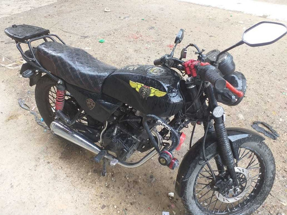 Moto Nkd 125 2019 Negro Mate
