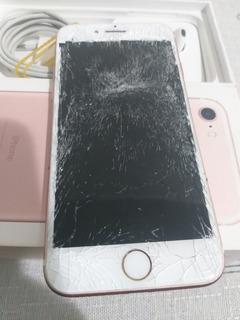 Celular iPhone 7 Para Uso De Peças Barato (leia O Anuncio)