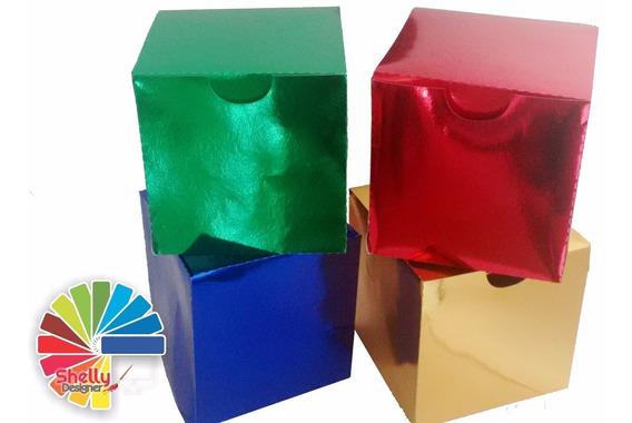 Caixa Para Caneca (metalizada) - C/10 Uni
