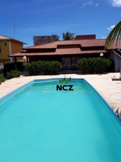 Casa Com 3 Dormitórios À Venda, 250 M² Por R$ 400.000,00 - Barra Do Jacuípe - Camaçari/ba - Ca3305