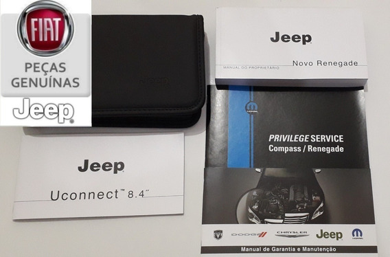 Manual Do Novo Jeep Renegade 2018/2019/2020 Original Novo