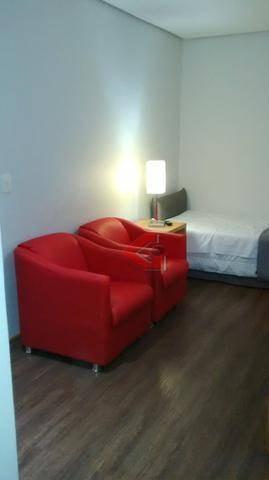 Flat Com 1 Dormitório Para Alugar, 55 M² Por R$ 1.225,00/mês - Centro - Santo André/sp - Fl0012