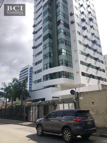 Apartamento Com 2 Dormitórios Para Alugar, 57 M² Por R$ 2.500,00/mês - Boa Viagem - Recife/pe - Ap10211