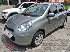 Nissan March Sense Mt 1.6 2014 Hnv337- Salvamento Sura
