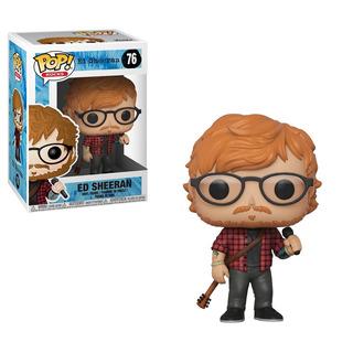 Funko Pop Ed Sheeran 76 Nuevo Original Cerrado