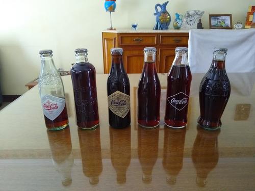 Botellas De Coca Cola De Diferentes Épocas  Edicion Limitada