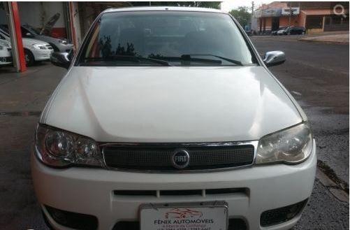 Fiat Siena 1.8 Hlx Flex 4p - Branco