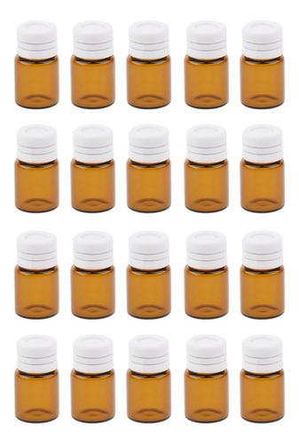 Imagen 1 de 3 de 20x Botellas Para Guardar Perfume Aceite Esencial De