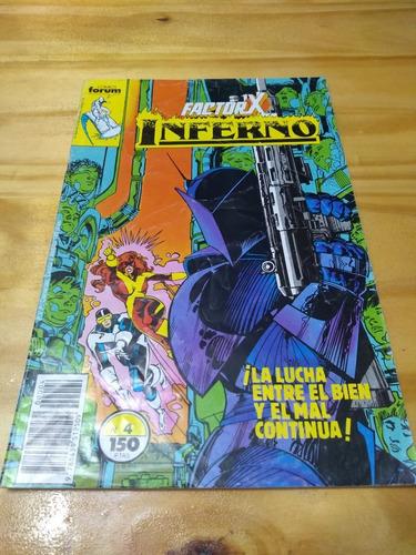 Inferno Factor X #4 - Simonson - Shoemaker - Forum - U