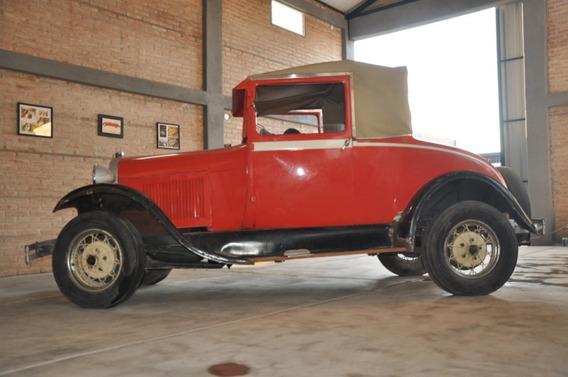 Ford A 1929 Roadster En Marcha