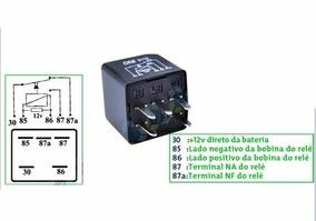 Kit 4 Rele Gm Silverado/s10 12v 12193602 + 2 Rele 12077866