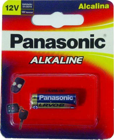 2 Mini Pilha Bateria Alcalina 12v Controle Remoto Portão