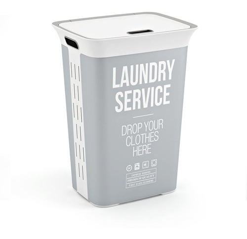 Imagen 1 de 2 de Cesta De Ropa Laundry Service 60 Litros