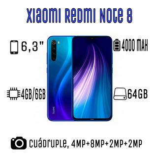 Xiaomi Redmi Note 8 64gb Y 8t 64gb