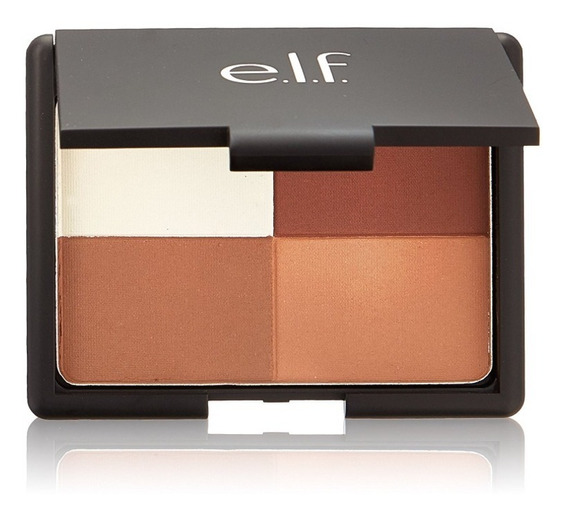 Paleta Bronzer Elf Cosmetics, Contorno E Iluminador + Brinde