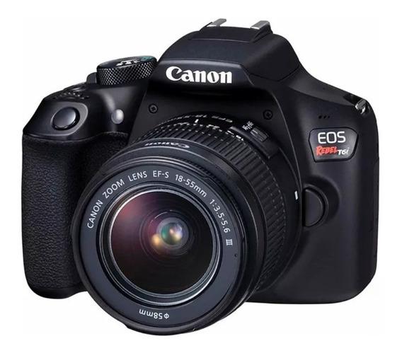 Câmera Fotográfica Canon Eos T6i