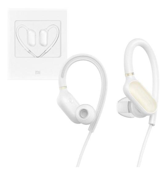 Fone Mi Sports Bluetooth Branco Xiaomi Ipx4 Resiste À Suor