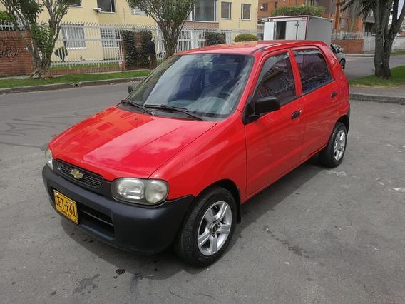 Chevrolet Alto Mt1000cc Rojo Incandescente Aa