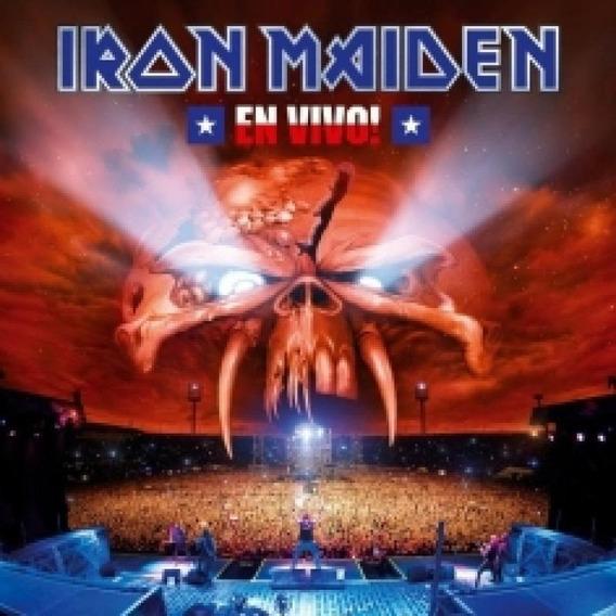 Cd Iron Maiden - En Vivo (2 Cds) - 2012
